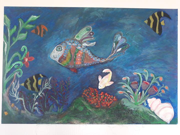Fishes- aquarium - Molka