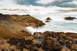 Sundown at Portlethen, Scotland