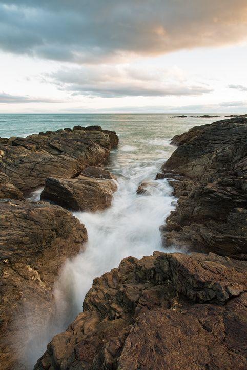 Sunset at Portlethen, Scotland - ianmiddletonphotography