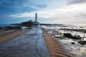 Saint Mary's Lighthouse at Whitley B