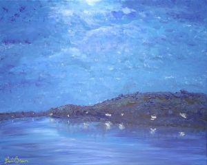 Evening on Moonshine Lake