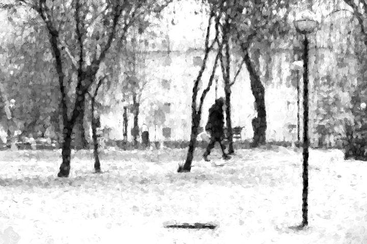 In the snow - Roberto Giobbi