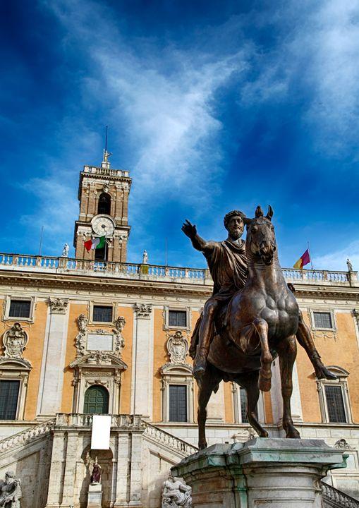 Campidoglio square and Marco Aurelio - Roberto Giobbi