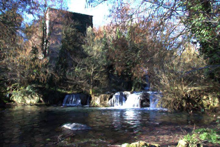 Waterfall Monte Gelato - Roberto Giobbi