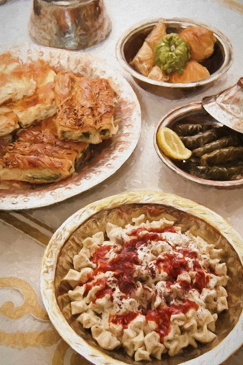 Turkish lunch - Roberto Giobbi