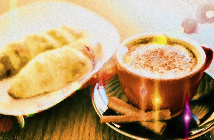 Cappuccino and brioches - Roberto Giobbi