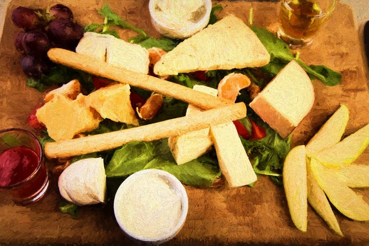 Cheese plate with marmalade -  Robertogiobbi