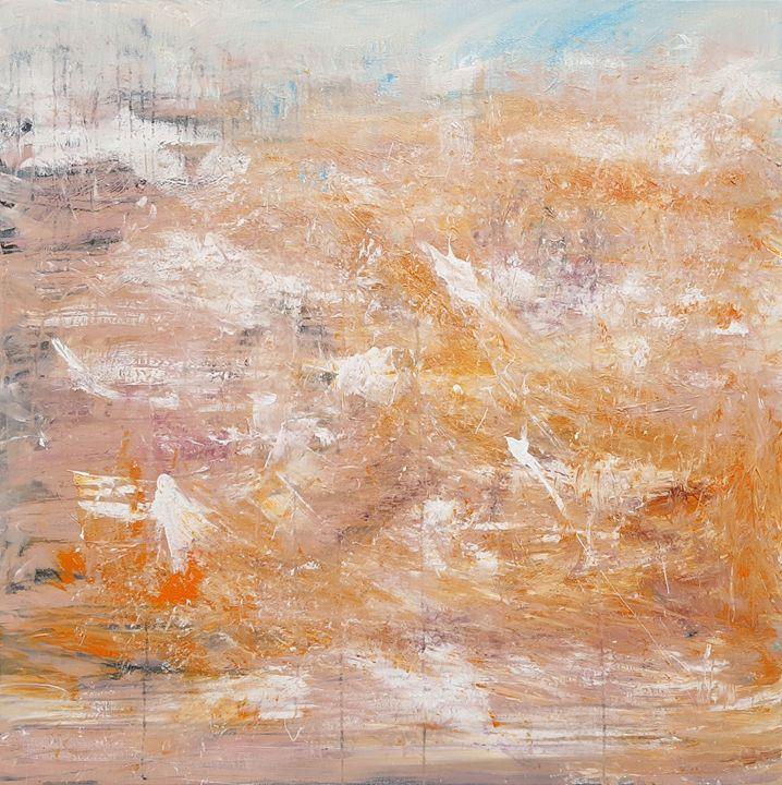 Act of resurrection - wimvandewege paintings
