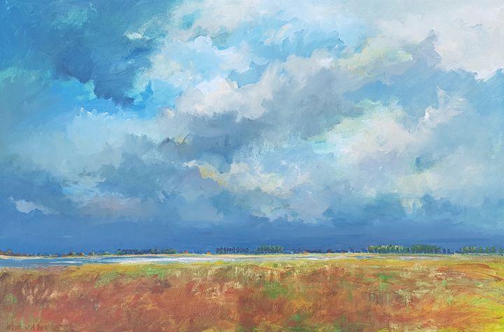 Landscape Zeeland 2017 - wimvandewege paintings