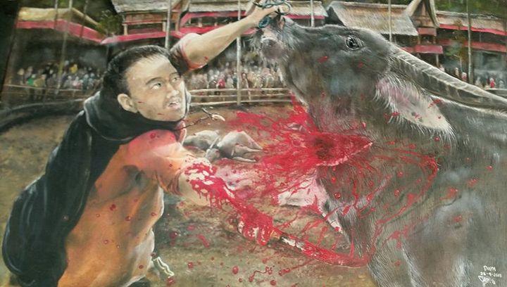 Slaughtering Buffalo - Xtra3e Art