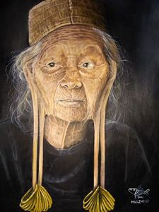 Grandmother of Dayak