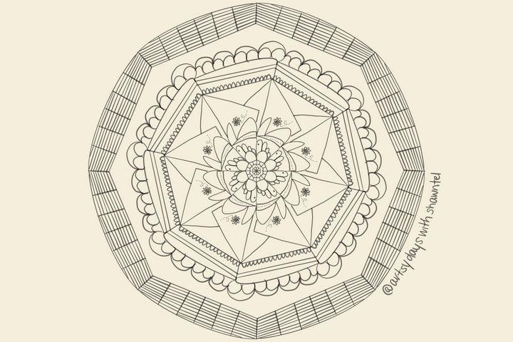 Basket Mandala - Artsy Days With Shawntel