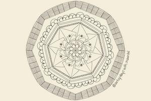 Basket Mandala