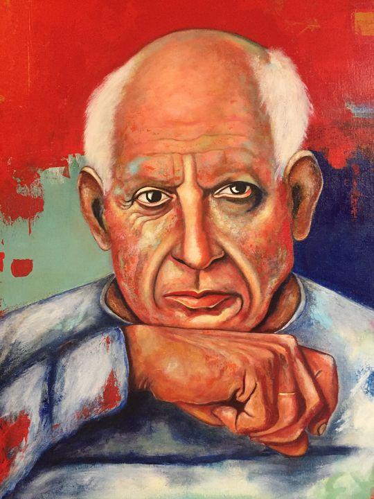 Picasso in red - Eva Pelles