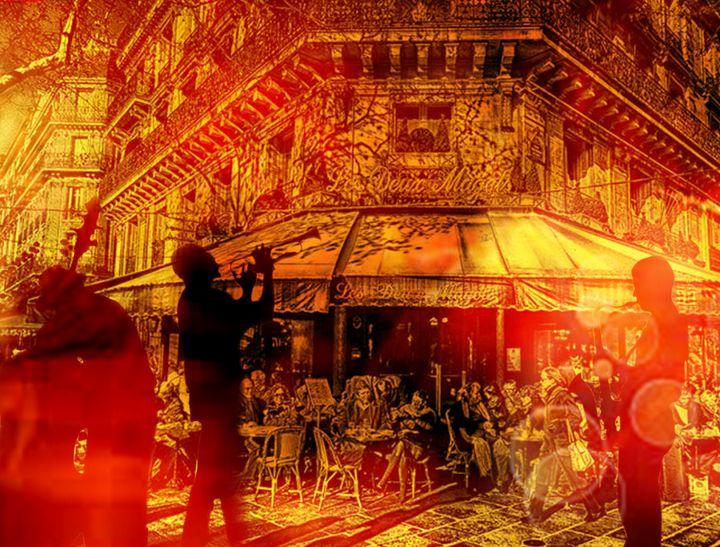 Les terrasses a Paris - Eva Pelles