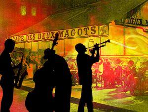Jazz dans les rues de Paris