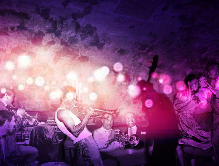La fête chez Georges - Eva Pelles