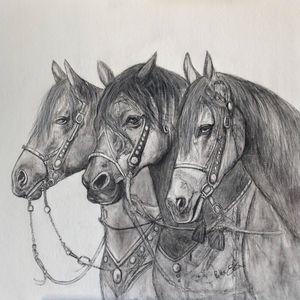 Les trois chevaux