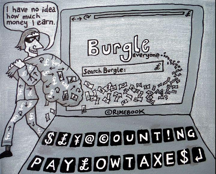 Burgle Everyone - rimebook