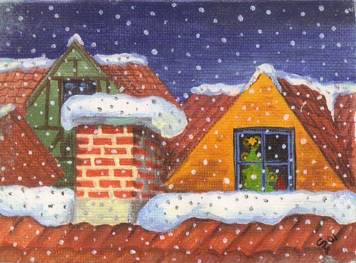 Cozy Christmas - Pia's Contemporary Art Collection