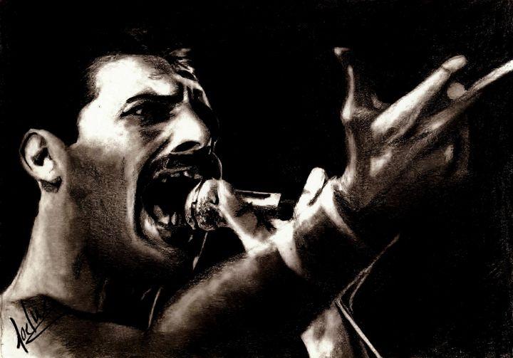 Freddie Mercury - Joe Gonçalves