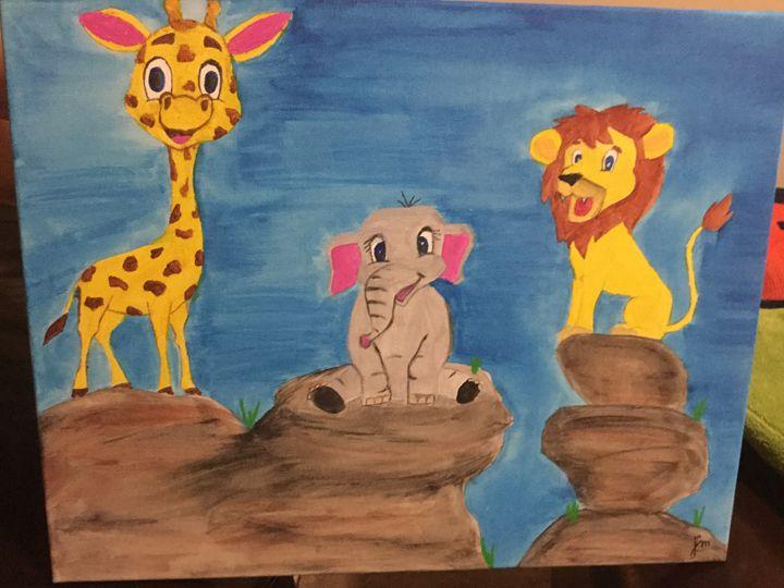 Friendly Zoo - Jm art