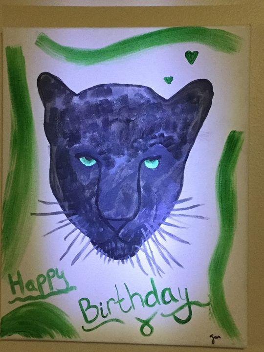 Black panther - Jm art