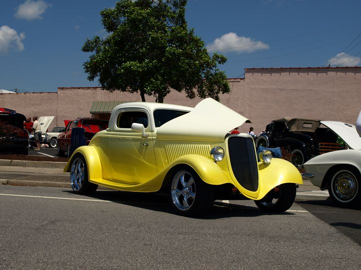 P5072013 Yellow Hot Rod - Stephen Ham Photography