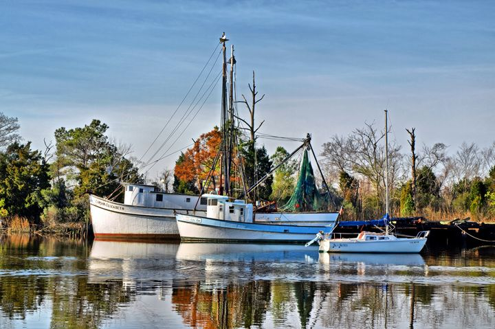 P1053752 Shrimp Boats - Stephen Ham Photography