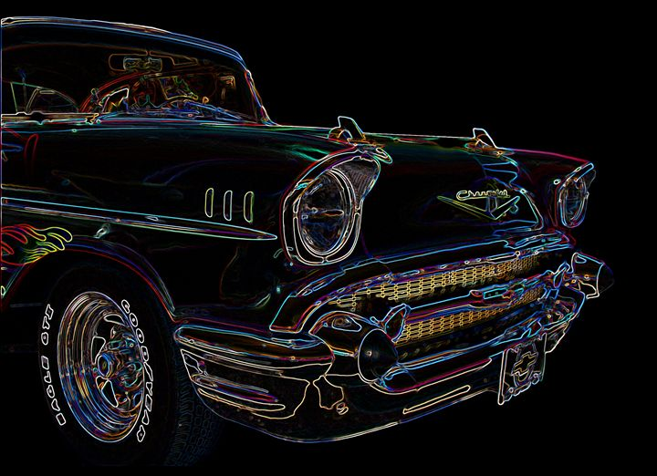 P4171784 1957 Chevy Clipped & Edged - Stephen Ham Photography