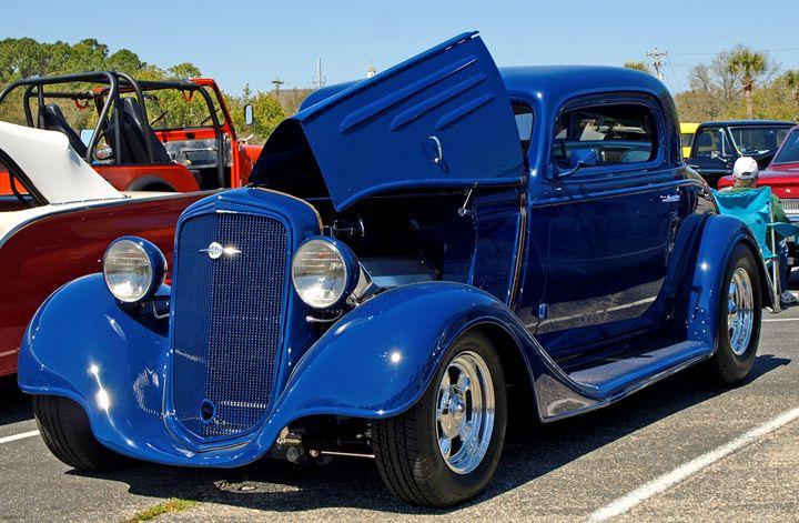 _3158079 Blue Chevrolet Hot Rod - Stephen Ham Photography