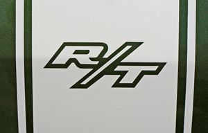 Dodge Charger R/T Rear Decal