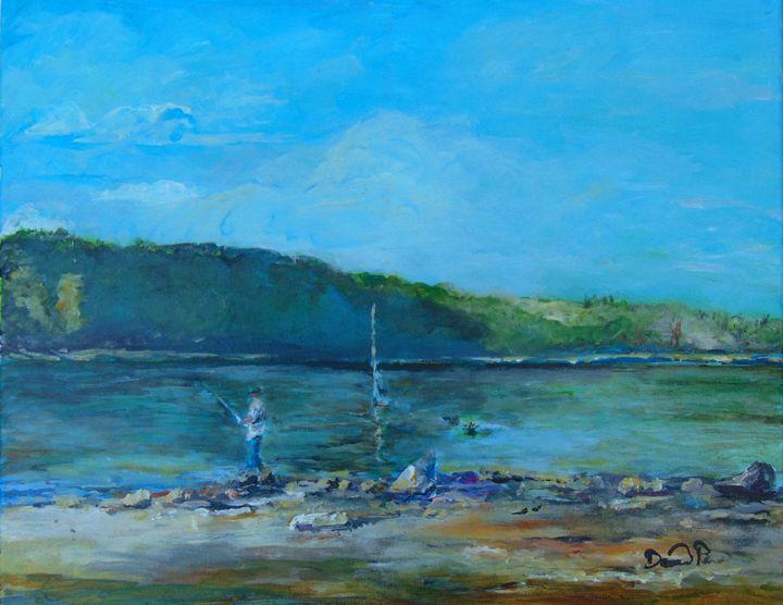 Lake Alatoona fishing - David Pitts