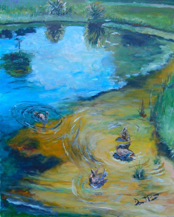 Duck Pond N. Wickham Park - David Pitts