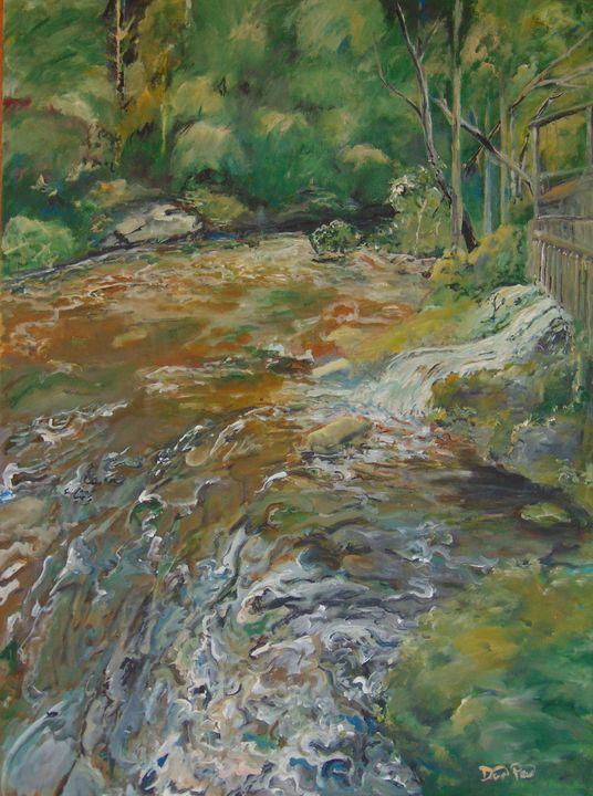 River in Helen Georgia - David Pitts