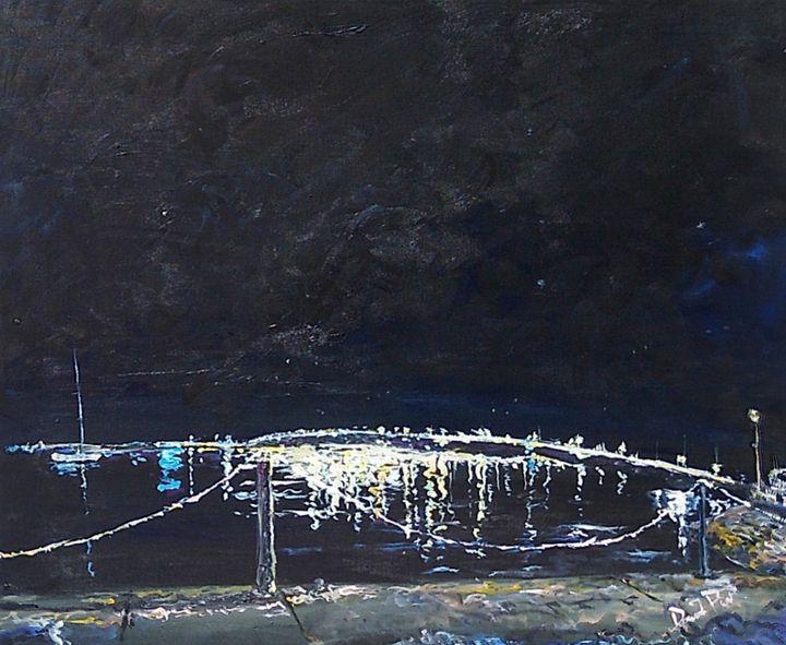 Lions bridge at night - David Pitts