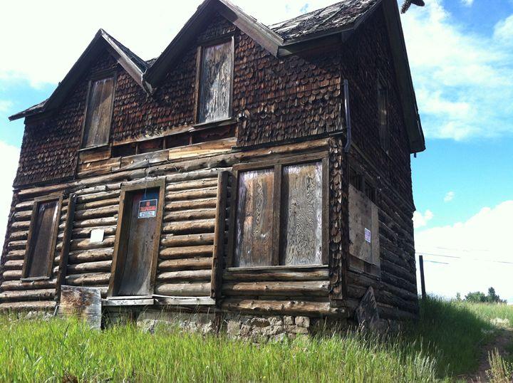 Abandoned House - Danella Dunkin Art