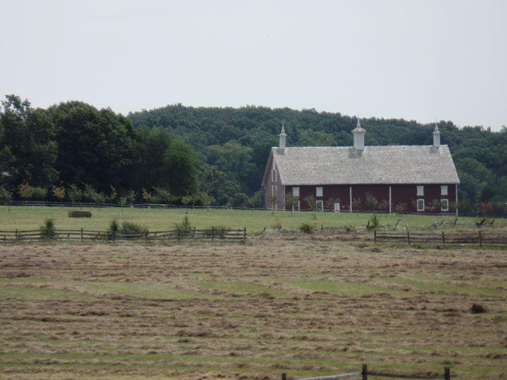 Barn at Gettysburg - InkSpot Original Art