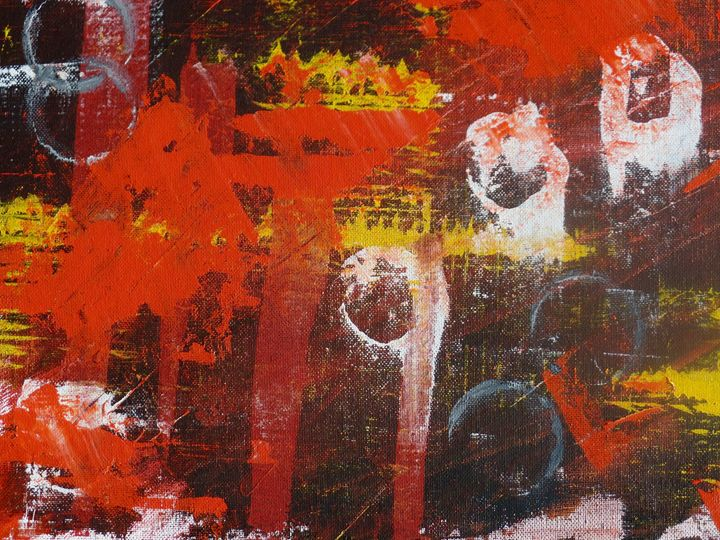Into the Flame - InkSpot Original Art