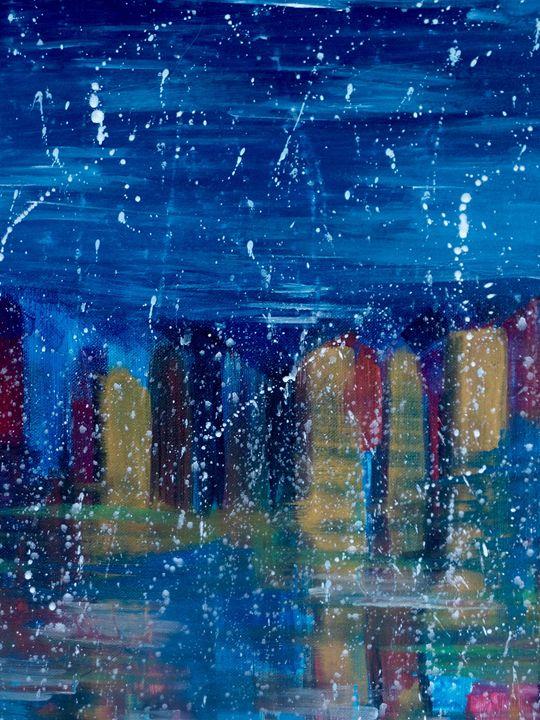 City Snow - InkSpot Original Art