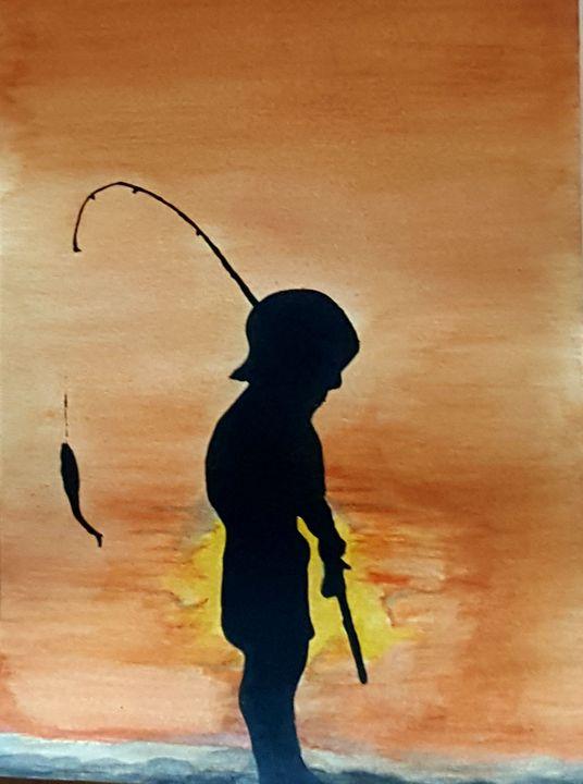 A day fishing - skoobaart