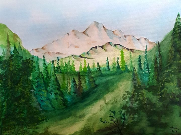 The valley - skoobaart