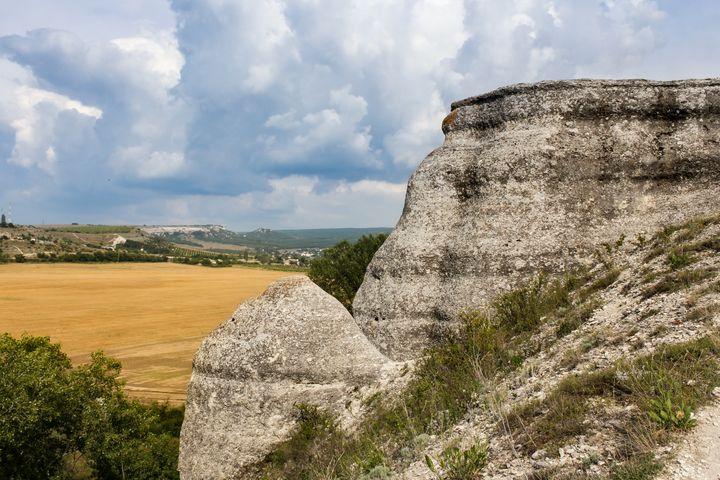 Landscape in Crimea. - German S