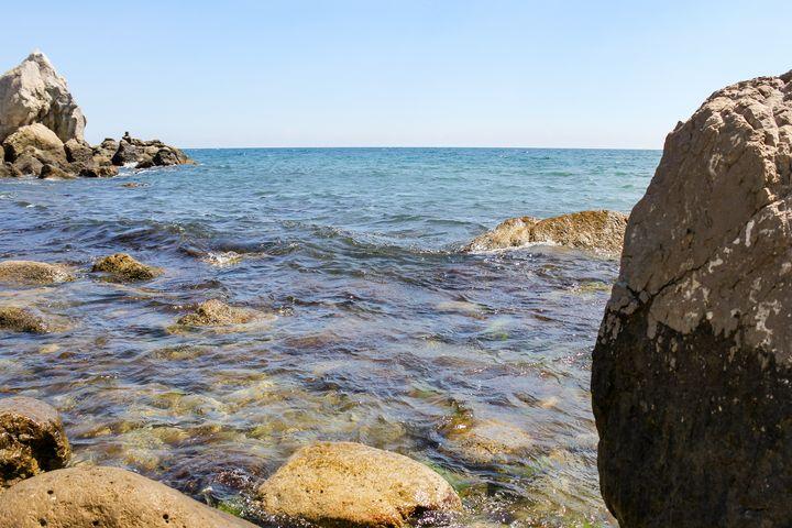 Stones under water. - German S