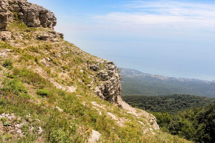 Top of Mount Ai-Petri. - German S
