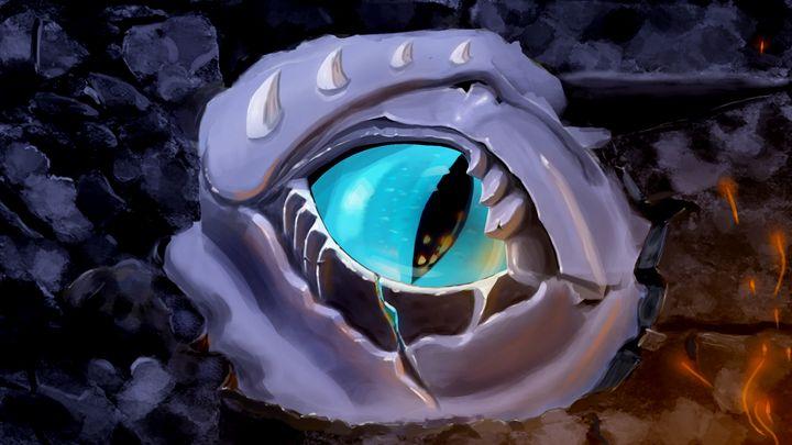 Eye in the wall. - German S