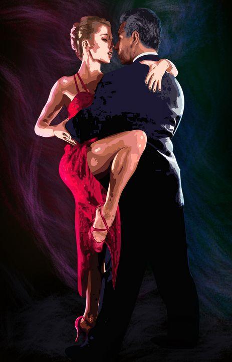 Classical tango for men and women. - German S