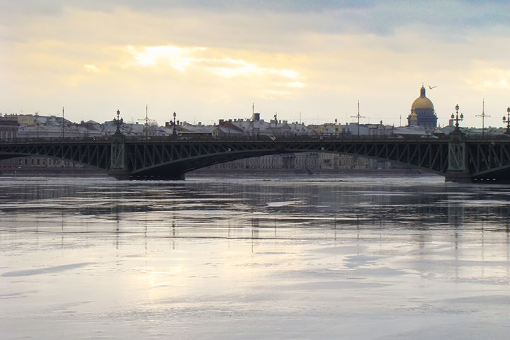 The ice on the Neva from the Troitsk - German S