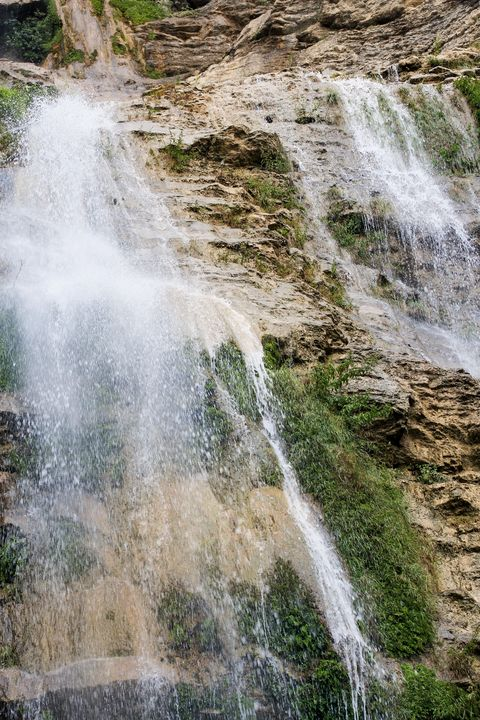 Mountain Waterfall Uchan-Su. - German S