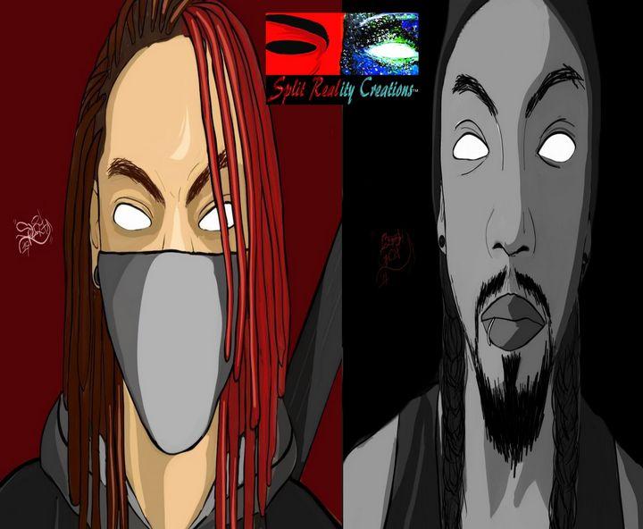 Split Personas Promo Art - SplitRealityCreations